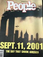 PEOPLE September 11 2001 MAGAZINE World Trade Center 9-11 Twin Towers