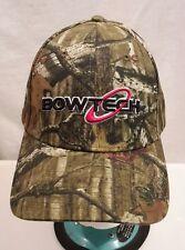 BOWTECH Mossy Oak Camo Baseball Hat Cap Archery Hunting