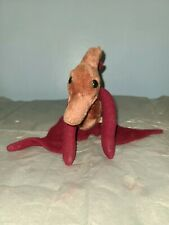 Vintage 1980 Dakin Pterodactyl Stuffed Animal Dinosaur Plush