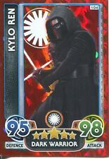 Star Wars The Force Awakens Force Attax Extra Ice Foil Card #104 Kylo Ren