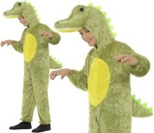 Childrens Fancy Dress Crocodile Costume Boys Girls Kids Childs Suit by Smiffys