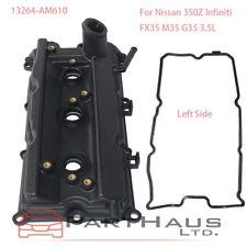 Engine Valve Cover + Gasket For Nissan 350Z Infiniti FX35 G35 M35 3.5L Left Side