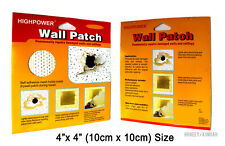 10 X Self Adhesive Stick Mesh Patch Ceiling Repair Hole Dry Wall Painting
