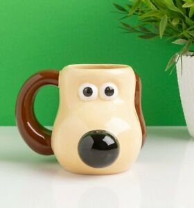 Official Wallace And Gromit Gromit Shaped Mug