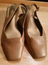 Liz &Co slingback leather shoes size 8.5 M GUC