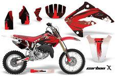 Honda CR 85 Graphic Kit AMR Racing # Plates Decal CR85 Sticker Part 03-07 CBONX