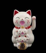 Famille Chat Japonais Porte Bonheur Maneki Neko Patte  14CM-XL 341-GAR1