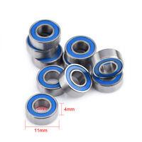 10Pcs MR115 2RS Ball Bearings For Traxxas Slash Rustler Stampede Wheel 5x11x4mm