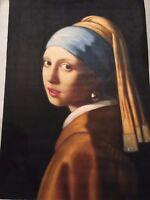 Jan Vermeer  - Olio su tela - Ragazza col turbante - 100 x 69 cm