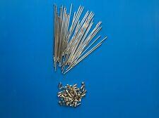 KIT 36 RAGGI + NIPPLES SPOKER & NIPPLES DRITTI DIAMETRO 3,5 mm LUNGHEZZA 220 mm
