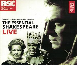 The Essential Shakespeare Live - The Royal Shakespeare Company CD Audio Book