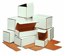 50-10x4x3 White Corrugated Carton Cardboard Packaging Shipping Mailing Box Boxes