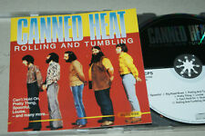 CANNED HEAT ** ROLLING AND TUMBLING ** CD ALBUM