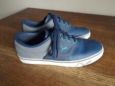 PUMA EL ACE L GT Denim/Steel Gray/Blue Grass Low Profile Sneaker Size 10.5