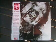 NIGHT OF THE LIVING DEAD  --LIMITED 2XLP SET--180 GRAM VINYL ALBUM--SEALED!