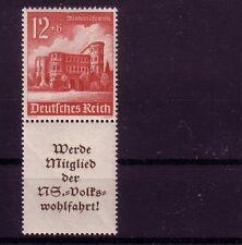 Deutsches Reich Zusammendruck Michelnummer S 262 postfrisch