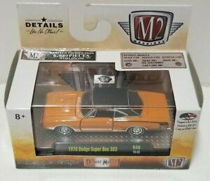 M2 Detroit Muscle 1970 Dodge Super Bee 383 Orange/Black LE 6880