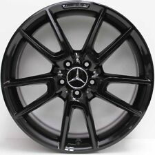 19 inch GENUINE MERCEDES BENZ AMG C43 2017 MODEL ALLOY WHEELS IN CUSTOM BLACK