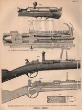 FRANCO-PRUSSIAN WAR. Small Arms. Prussian Needle-gun. Cartridge. Militaria 1875
