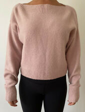 & Other Stories Boat Neck Knit Jumper, Dusty Pink, Size Small, Los Angeles,