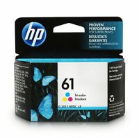 HP 61 Color Ink Cartridge Standard (CH562WN#140) 863061 BRAND NEW