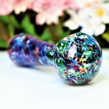 """4"""" Navy Avatar Glass Pipe Tobacco Smoking Herb Bowl Hand Pipes Gift"""