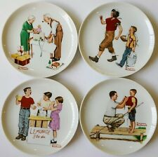 New ListingAuthentic Norman Rockwell Lot of 4 Decorative Collector's Plates