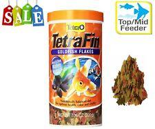 TetraFin Balanced Diet Goldfish Flake Food for Optimal Health 7.06-Ounce