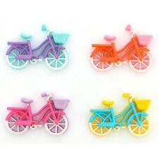 Jesse James Buttons  - Dress It Up - BIKE RIDE 10412 - Bicycles with Baskets Sew