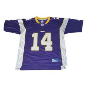 Reebok Minnesota Vikings Brad Johnson Jersey Large NFL #14 Y2K NFL Football