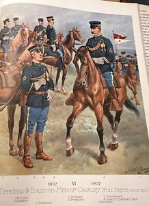 Uniforms of the US Army by Henry Ogden, Vol 2, 1898-1907
