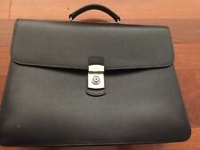 Royce saffiano Leather Briefcase