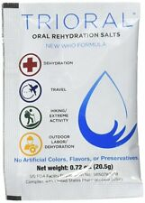 TRIORAL -Oral Rehydration Salts ORS (100, One Liter Packets/Box) 100 Packet Box