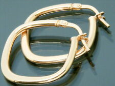 9ct Gold  hoop earrings  9ct Rose Gold Brand New