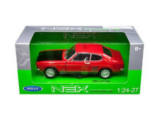 WELLY 24069 - 1/24 SCALE FORD CAPRI RS RED WITH BLACK BONNET 1969