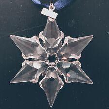 Swarovski 2000 Crystal Snowflake Ornament Rare Collectors Item Retired
