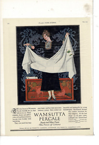MAY 1924 LADIES' HOME JOURNAL SCRANTON SHEETS COLES PHILLIPS AD PRINT E184