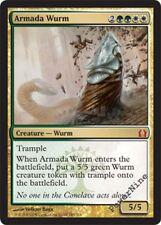 1 FOIL Armada Wurm - Gold Return to Ravnica Mtg Magic Mythic Rare 1x x1
