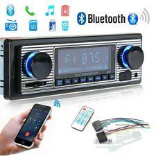 Retro Autoradio Bluetooth Freisprecheinrichtung USB FM AUX MP3 1DIN Oldtimer DE