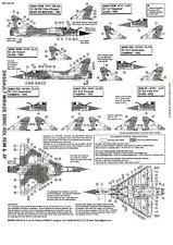 Berna Decals 1/144 DASSAULT MIRAGE 2000C RDI / RDM/ & -5 Fighters