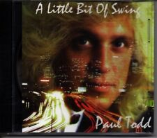 PAUL TODD - A LITTLE BIT OF SWING - MUSIC CD - NEW SEALED