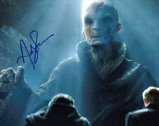 ANDY SERKIS signed Autogramm 20x25cm STAR WARS In Person SNOKE autograph COA