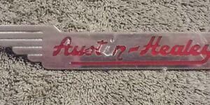 Austin Healey 100/4 & 3000 Factory Original Front Wings Badge