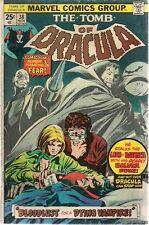 Tomb Of Dracula #38 (1975) Marvel Comics G/Vg