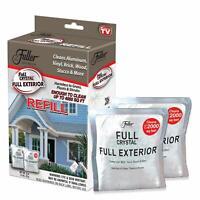 2 Full Crystal Refill Packets Fuller Brush Full Exterior Cleaner Powder New 🔥