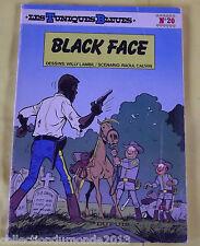 LES TUNIQUES BLEUES N°20 EDITION SOUPLE 1983 EO BLACK  FACE