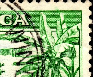 1938 Jamaica Sg 126 2d 'Re-enrty in Banana Leaves' Fine Used