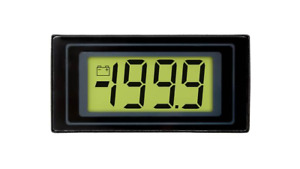 31/2 Digit LCD Voltmeter with LED Backlighting - DPM 125-BL