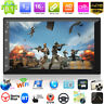 """7"""" 2DIN Android 8.1 Quad Core GPS Navi WiFi Car Stereo MP5 Player AUX FM Radio"""