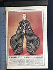 "David Bowie 1973 Original 11X17"" Clipping"